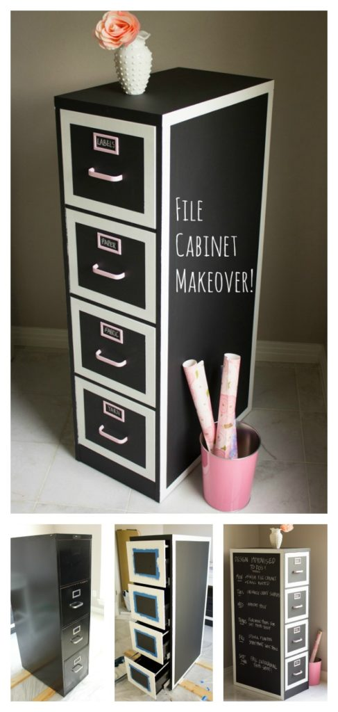 file-cabinet-makeover-with-chalkboard-paint