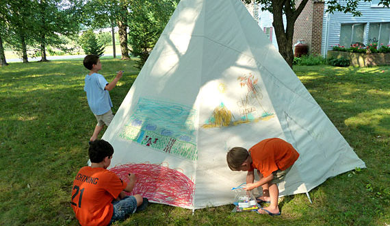 DIY Teepee Projects
