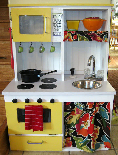 Colorful Toddler Kitchen