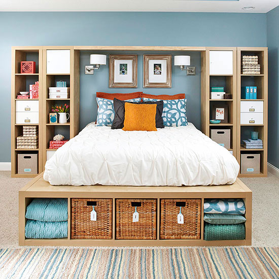 Upper and Lower Storage bed
