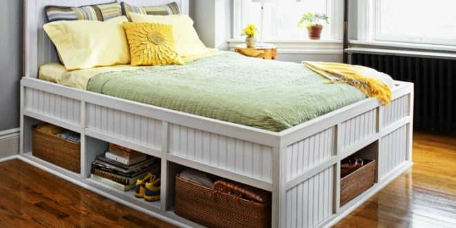 15 DIY Storage Beds For Adding More Storage Space In Your Room