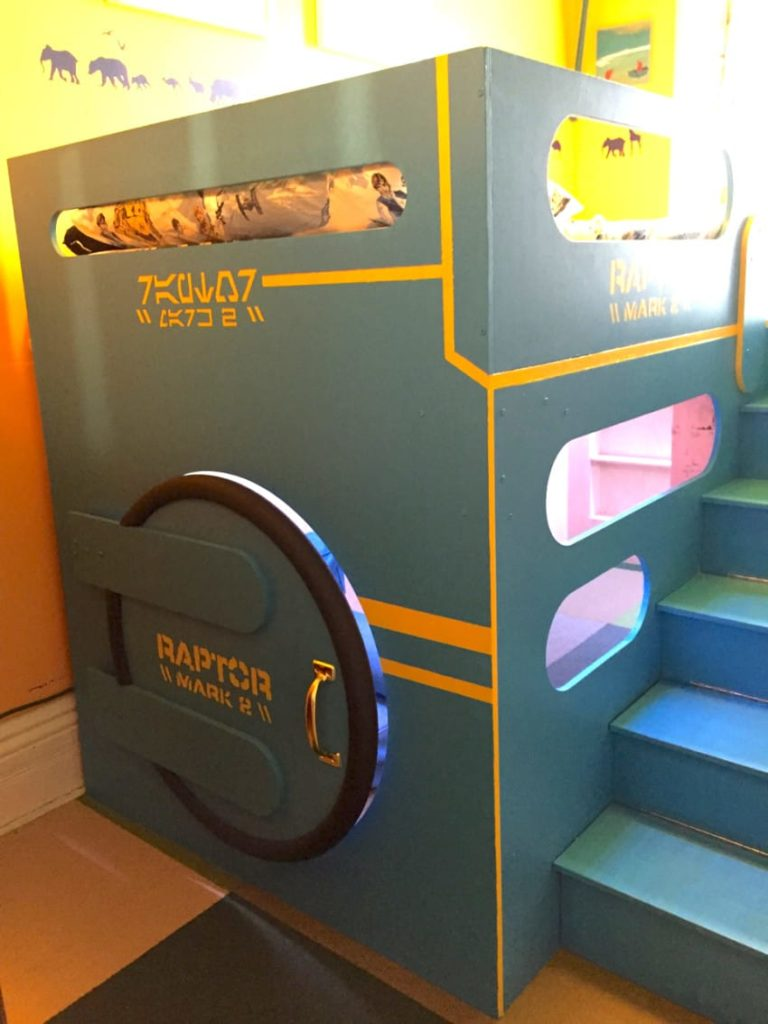 27 Diy Loft Beds For Kids To Have Fun Space Under Their Bed Home