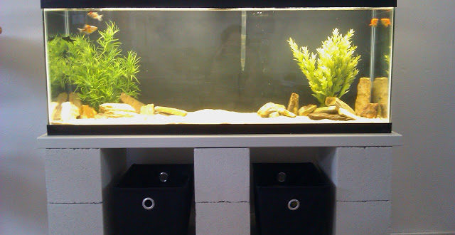 25+ DIY Aquarium Stands For Various Sizes Of Fish Tanks ...