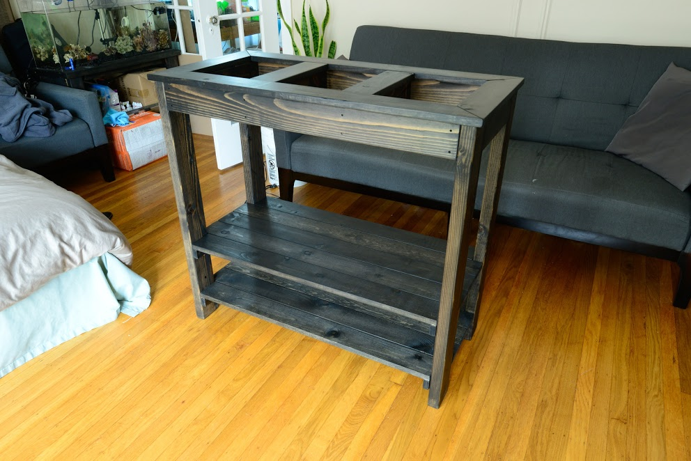 25 diy aquarium stands for various sizes of fish tanks home and