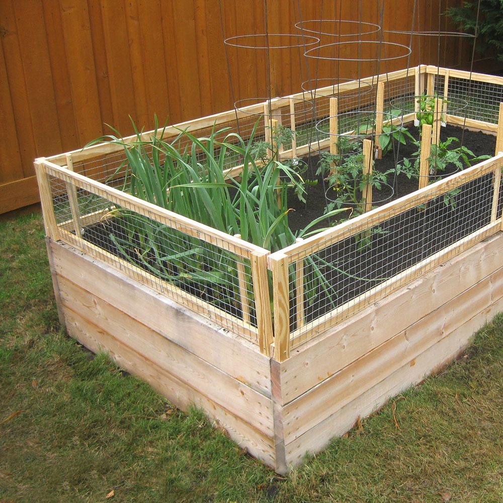 DIY Garden Box (Removable) Pest Gate
