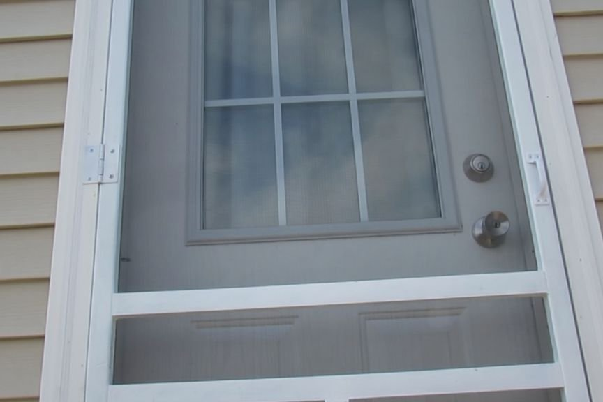 Single 2X6 Screen Door