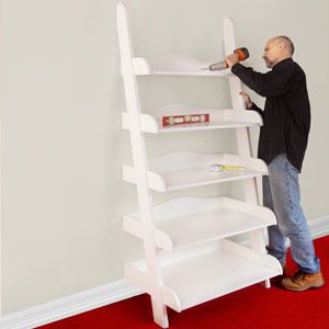 17 Diy Ladder Shelf To Add Style Storage Space In Your Home Home
