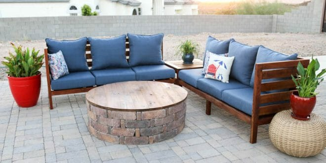 17 Diy Outdoor Sectional Couch And Sofa