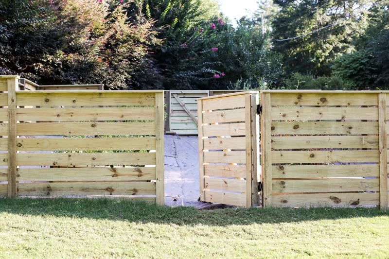 DIY Bahçe Kapısı