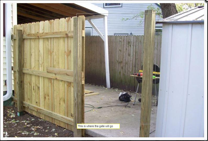DIY Gizlilik Çit Kapısı
