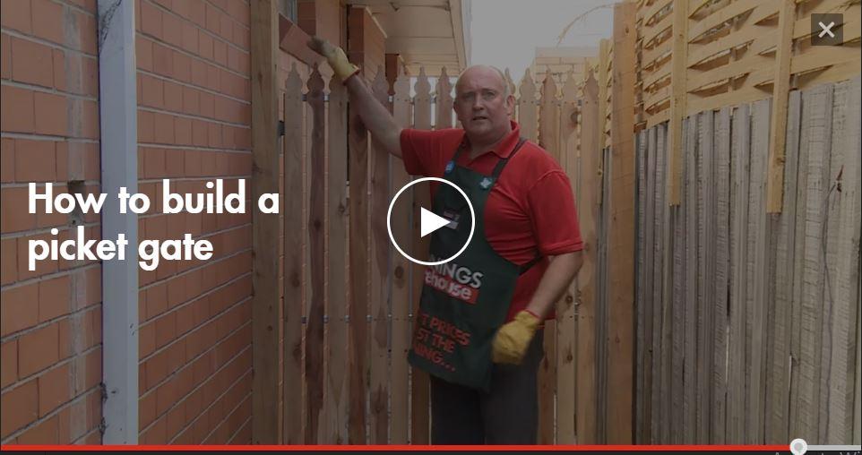 Picket DIY Çit Kapısı