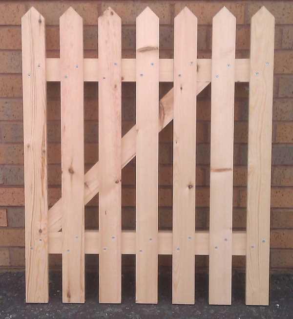 Hızlı DIY Çit Kapısı