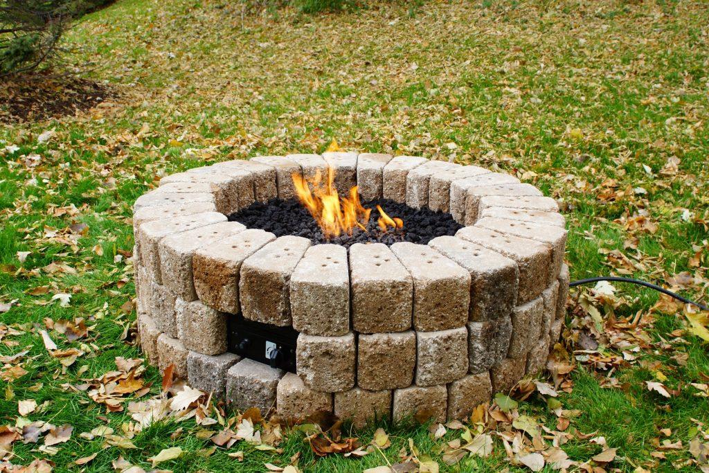 Özelleştirilebilir DIY Gazlı Ateş Çukuru
